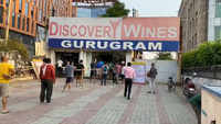 Liquor shops: Gurugram witnesses brisk business