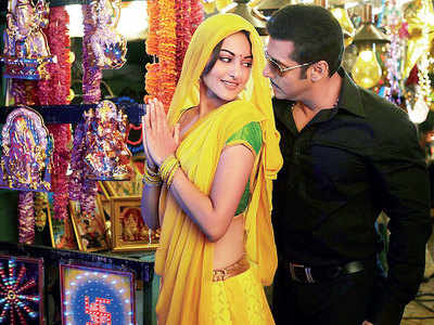 This week, that year: When Sonakshi Sinha caught the eye despite a sty in Salman Khan's Dabangg