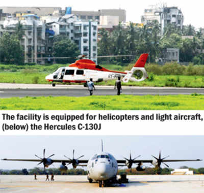 Hercules to land at Juhu air-strip today in test drill