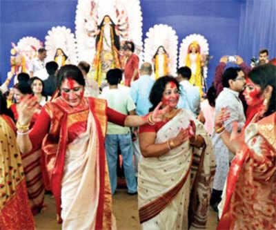 Farewell to Maa Durga