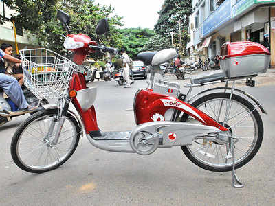 Will e-bikes be popular in the city, when the bike sharing scheme has been otherwise unsuccessful?