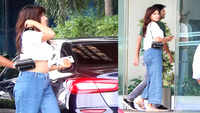Sushant Singh Rajput and rumoured girlfriend Rhea Chakraborty spotted together
