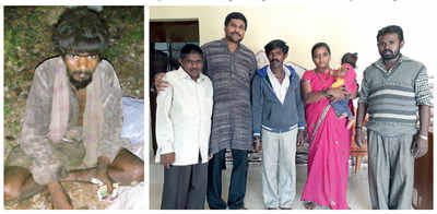 Mangaluru: Reunion with family is the Aadhaar side of his story
