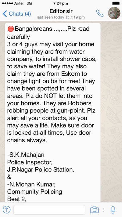 'Water and power company' robbers on prowl