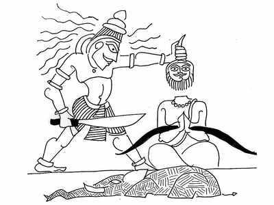 Why does Shiva behead Brahma?
