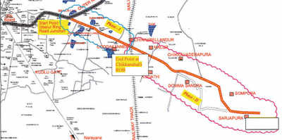BBMP to go ahead with Sarjapura road widening