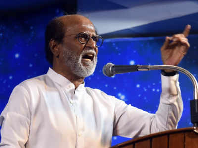 Rajinikanth hits out at AIADMK for protests against Vijay-starrer Sarkar
