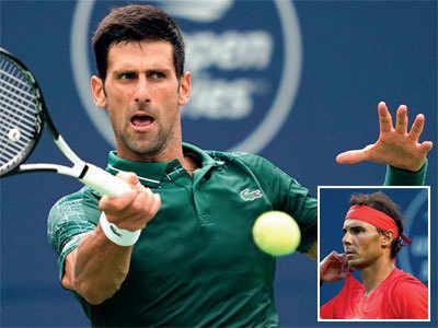Djokovic, Nadal advance despite Toronto rain