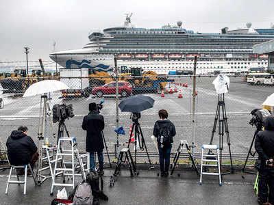 2 more Indians test positive for virus on ship off Japan