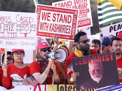 Separatist Sikhs, Pakistanis protest Modi's visit to US