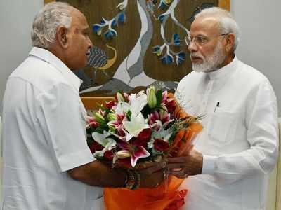 Karnataka floods: CM BS Yediyurappa meets PM Narendra Modi, seeks immediate funds for relief work