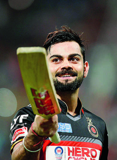 Kohli hits Twitter for a six, cheered by 10.8mn fans