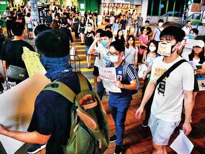 Twitter, Facebook shut accounts targeting Hong Kong protesters