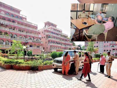 Posh Moghul Garden's peace shattered by senior... citizen's antics