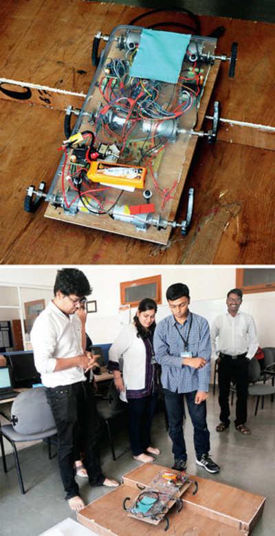 Saviour robot impresses IIT
