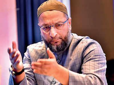 Owaisi rebukes Yogi over 'Nizam' barb, says he isn't running away