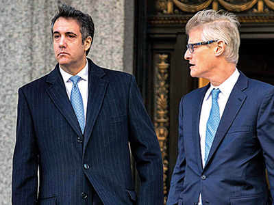 Trump's ex-lawyer pleads guilty to misleading Cong