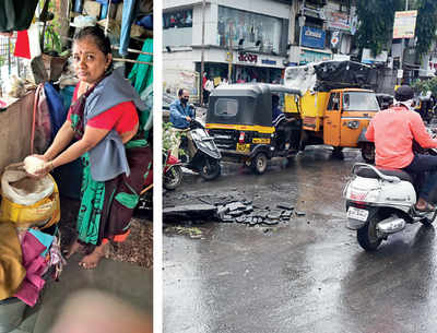 Heavy rains submerge residential colonies