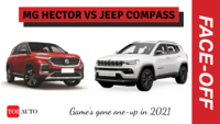 MG Hector vs Jeep Compass | 2021 facelift features compared