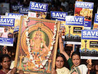 Sabarimala temple issue: Travancore Devaswam Board to hold crucial meet amid protests across Kerala