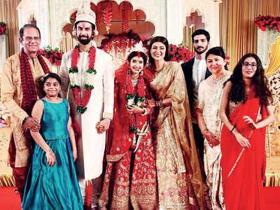 Monsoon wedding for Sushmita Sen's brother Rajeev Sen and Charu Asopa