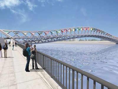 Sabarmati set to get a swanky foot overbridge