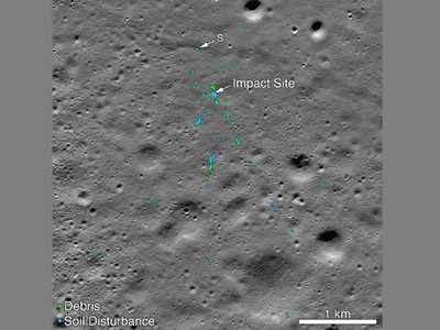 NASA finds debris of Vikram Lander on moon; Indian credited for help in locating site