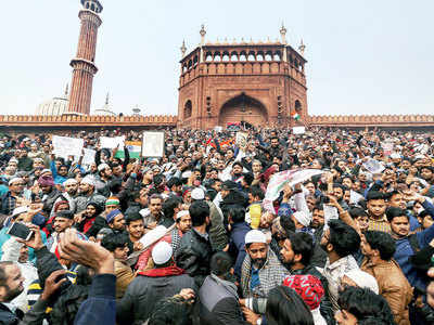 'You are behaving as if Jama Masjid was Pakistan'