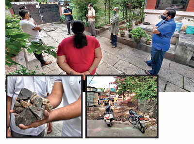 TMV Colony locals irked by nuisance created by miscreants from a slum