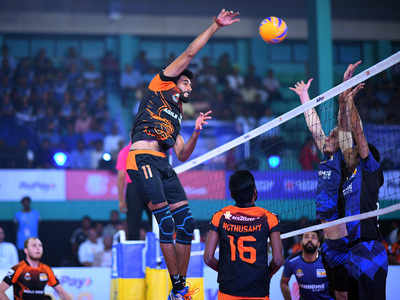 Pro Volleyball League: Ahmedabad Defenders start the campaign with a loss