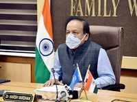 Covid-19: Dr Harsh Vardhan meets with state health ministers, reviews vaccination drive