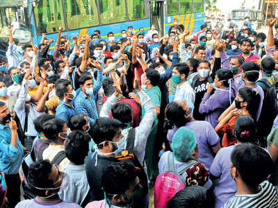 SVP nurses protest over pay-cut mail