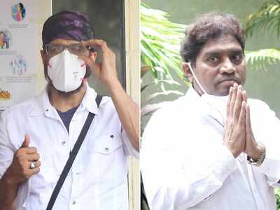 Jagdeep laid to rest in Mazgaon cemetery: Johny Lever pays his last respects