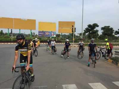 Bengaluru airport opens up for cyclists every Sunday