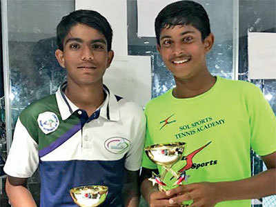 Vishesh revels in doubles delight