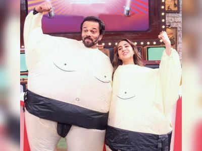 Rohit Shetty and Sara Ali Khan's wrestle mania