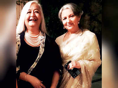 Malvika Singh celebrates 70th birthday with Sharmila Tagore and Peachoo Singh among others