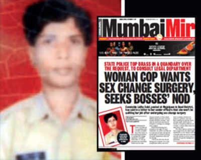 Pressure for marriage led woman cop to seek sex change