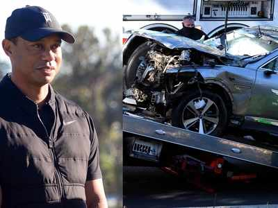 Tiger Woods suffers serious leg injuries after car crash