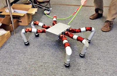 Researchers make a robot with other bots
