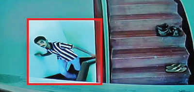 Residents use CCTV to trap lingerie thief