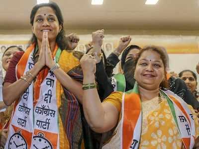 Baramati Lok Sabha Results 2019: Supriya Sule holds on to family bastion, defeats Kanchan Kool