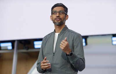 Google's Sundar Pichai named CEO at parent firm Alphabet