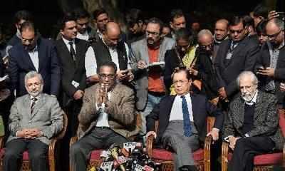 Battle of four judges who took on CJI Dipak Mishra take political hue after Left's support