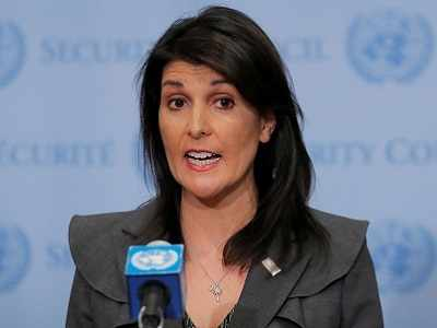 Nikki Haley defends Donald Trump's 'nuclear button' tweet, says it is needed to keep Kim Jong Un 'on his toes'