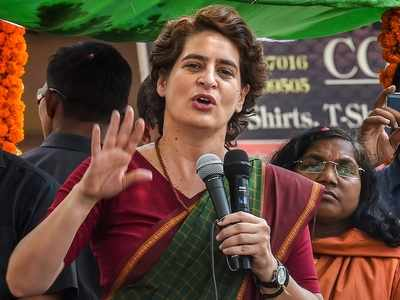 Priyanka Gandhi's jibe at Narendra Modi: Amitabh Bachchan would've been better pick for PM