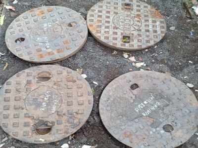 Duo arrested for stealing manhole covers from western suburbs