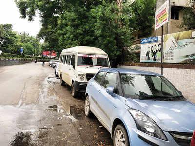 Shivajinagar plagued with parking violators