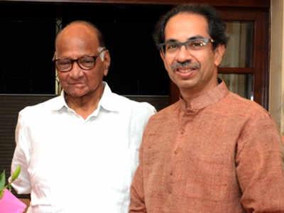 Sharad Pawar meets CM at Matoshree, bats for police chief
