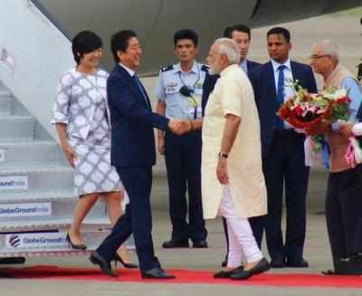 PM Narendra Modi, Shinzo Abe in Ahmedabad Day 2 Live updates: Foundation stone for India's first high-speed bullet train to be laid today